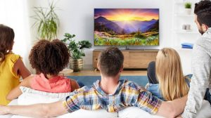 Jarak Pandang Menonton TV