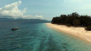 Penghujan di Gili Lombok