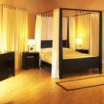 Unik, Desain Kanopi untuk Tempat Tidur Apartemen