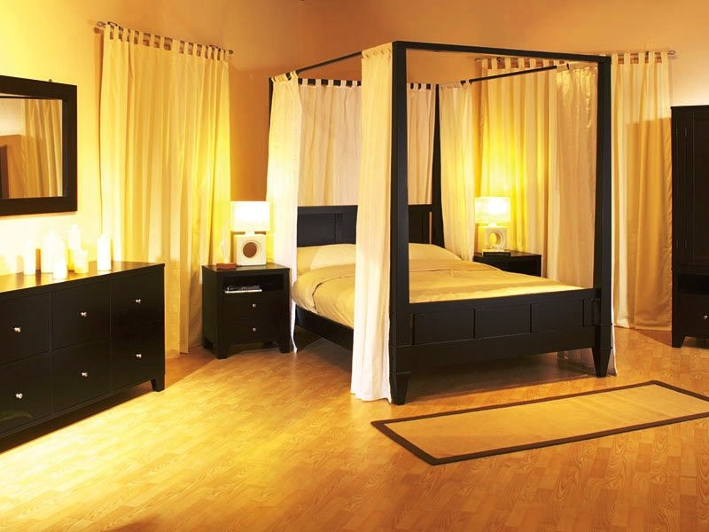 desain kanopi tempat tidur