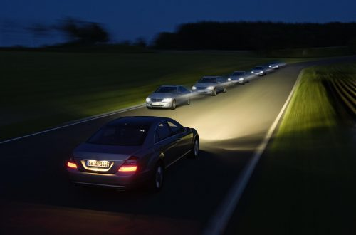 high beam car headlight