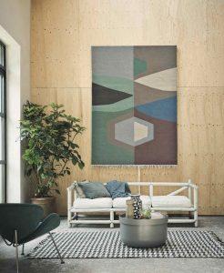 permadani hiasan dinding