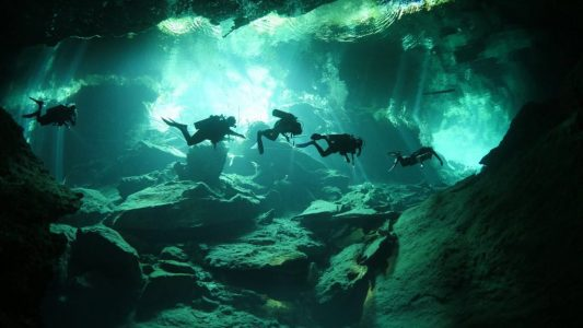 Cave or Sea Diver